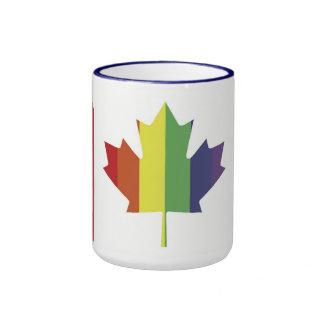 Canadian Pride Flag Coffee Mug