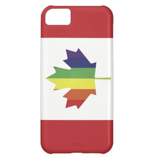 Canadian Pride Flag iPhone Case Cover For iPhone 5C