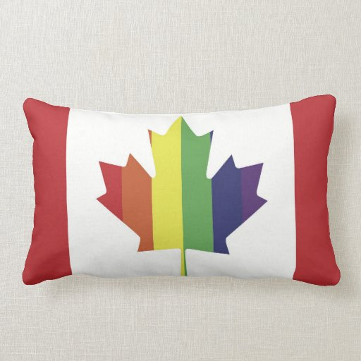Canadian Pride Flag Pillow