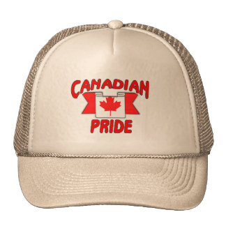 Canadian pride mesh hats