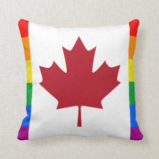 CANADIAN PRIDE MAPLE THROW PILLOW