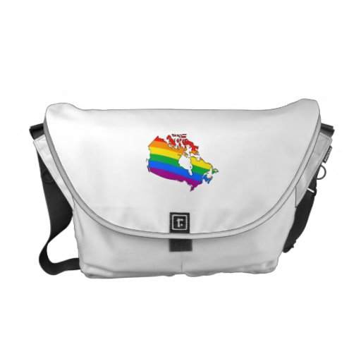 CANADIAN PRIDE COURIER BAG