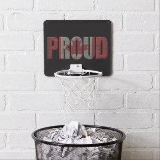Canadian pride mini basketball hoop