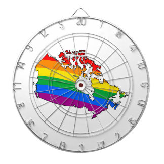 CANADIAN PRIDE - png Dartboard With Darts