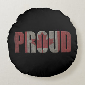 Canadian pride round cushion