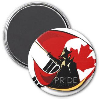 Canadian Pride Round magnet