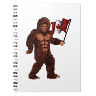Canadian Pride Spiral Notebook