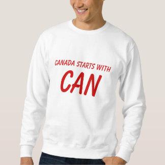 Canadian pride sweatshirt