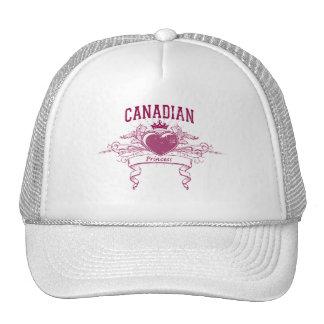 Canadian Princess Trucker Hats