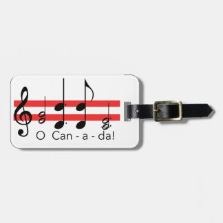Canadian products luggage tag