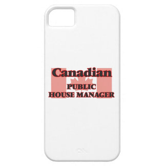 Canadian Public House Manager iPhone 5 Cover
