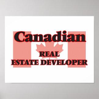Canadian Real Estate Developer Poster