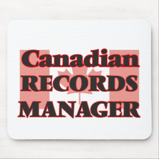 Canadian Records Manager Mouse Pad