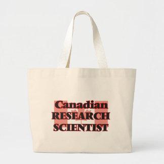 Canadian Research Scientist Jumbo Tote Bag