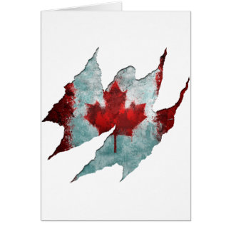 Canadian Rip Greeting Cards