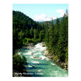 Canadian Rocky Mountain Postcard