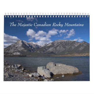 Canadian Rocky Mountains Calendars
