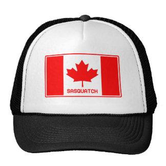 Canadian Sasquatch Trucker Hats