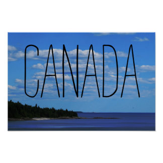 Canadian Side | Superior Lake Poster