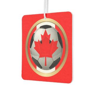 Canadian Soccer Ball Car Air Freshener