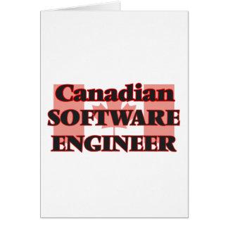 Canadian Software Developer Greeting Card