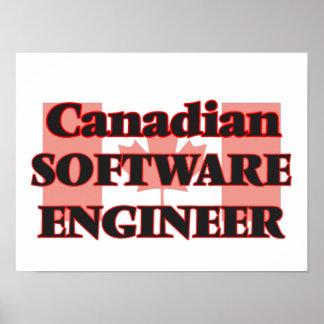 Canadian Software Developer Poster