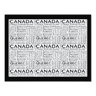 Canadian States & Cities Custom Announcement