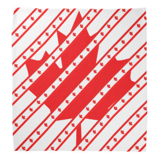 Canadian stripes flag bandana