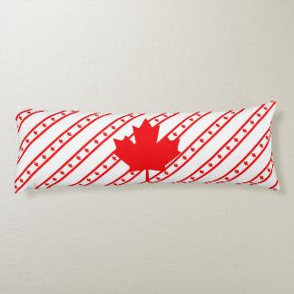 Canadian stripes flag body cushion