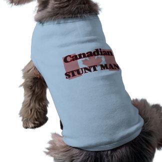 Canadian Stunt Man Sleeveless Dog Shirt