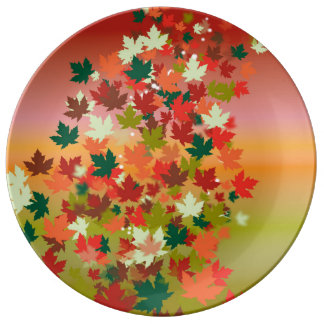 Canadian Sunset Plate