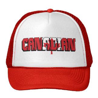 Canadian T-Shirt Hats