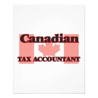 Canadian Tax Accountant 11.5 Cm X 14 Cm Flyer