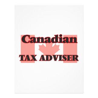 Canadian Tax Adviser 21.5 Cm X 28 Cm Flyer