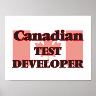 Canadian Test Developer Poster