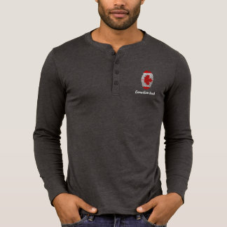 Canadian touch fingerprint flag T-Shirt