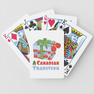 Canadian Tradition Bicycle Playing Cards