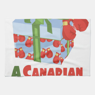 Canadian Tradition Tea Towel
