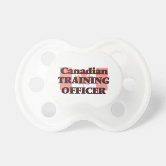 Canadian Training Officer Baby Pacifiers