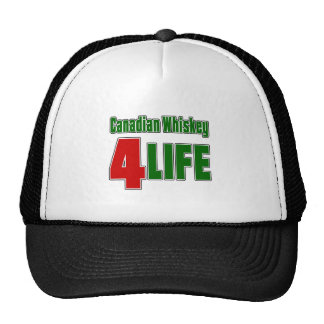 Canadian Whiskey 4 Life Cap