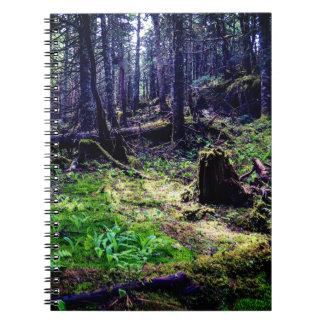 Canadian Wildlife Forest Spiral Notebook