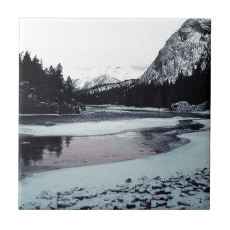 Canadian Winter Ceramic Tile