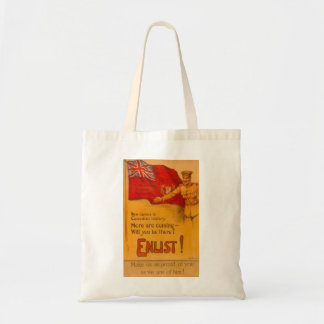 Canadian World War 1 Poster Tote Bag