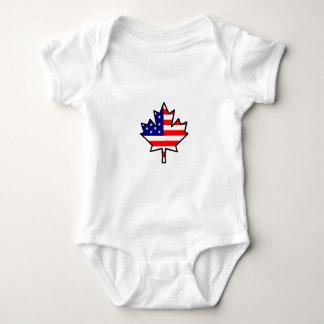 CanadianAmerican Baby Bodysuit