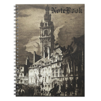 Canadians Entering Le Grand Place Notebook