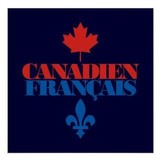 Canadien Francais 3 Poster