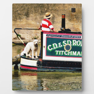 CANAL BOATS PLAQUES