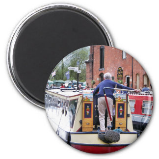 CANAL BOATS UK REFRIGERATOR MAGNET