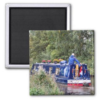 CANAL BOATS UK FRIDGE MAGNETS