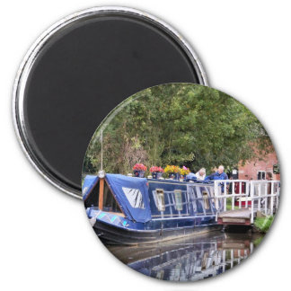 CANAL BOATS UK MAGNET